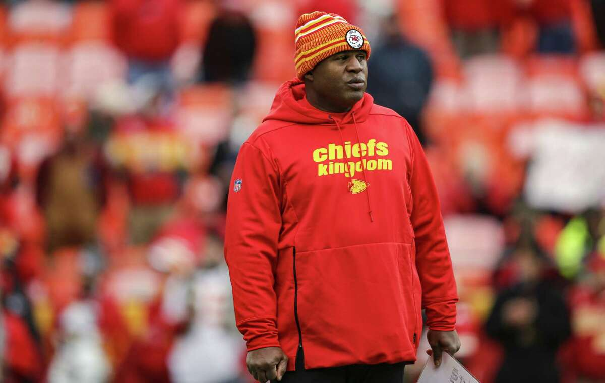 Chiefs offensive coordinator Eric Bieniemy is expected to be a top candidate for head-coaching jobs at season's end.