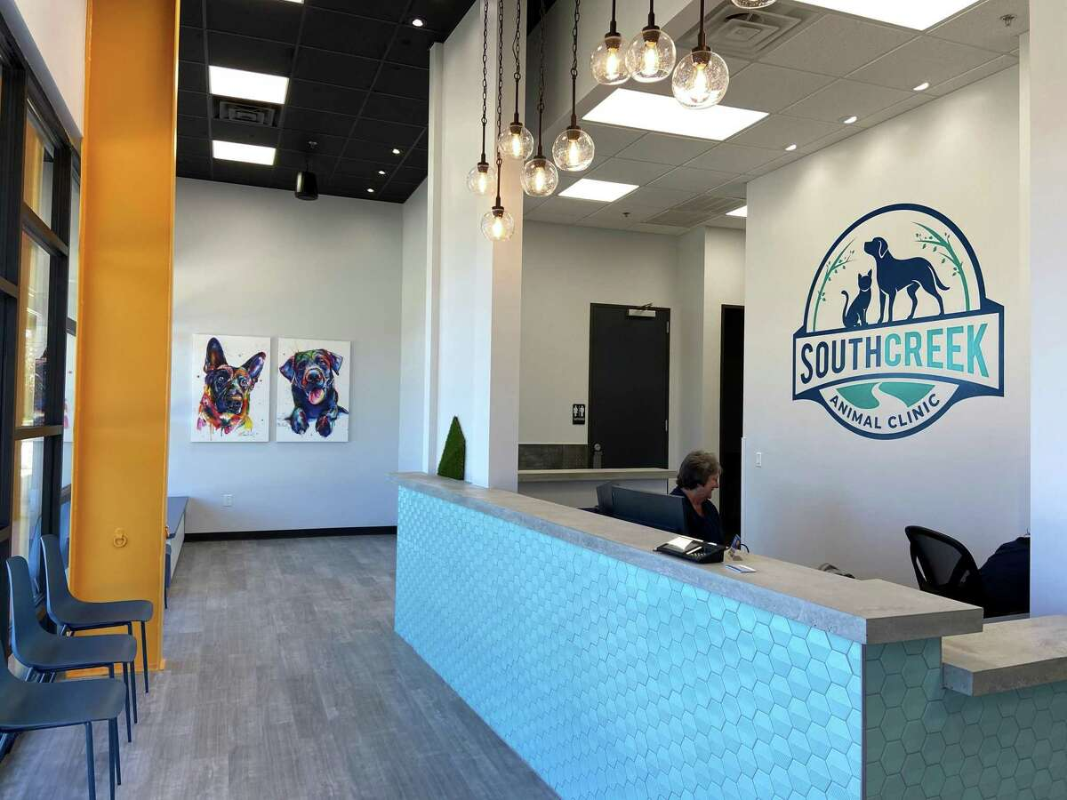 Dr. Thad Gloriod, DMV, opens his own pet clinic on Gosling Road. It has been a life long dream of his to have his own practice.