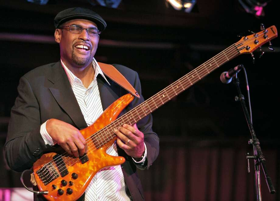 New England Arts & Entertainment has announced the winter jazz season at the Palace Theater's Poli Club, including Gerald Veasley, above, and Albert Rivera on March 6. Photo: Contributed Photo /