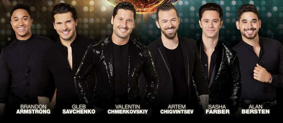 "The male dancers in ""Dancing With the Stars Live"" at Mohegan Sun. Photo: Mohegan Sun / Contributed Photo"