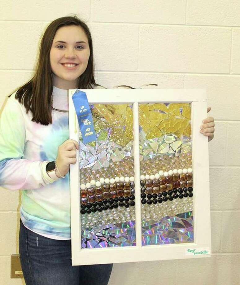 High school first place winner was Paige Korleski. (Submitted Photo)