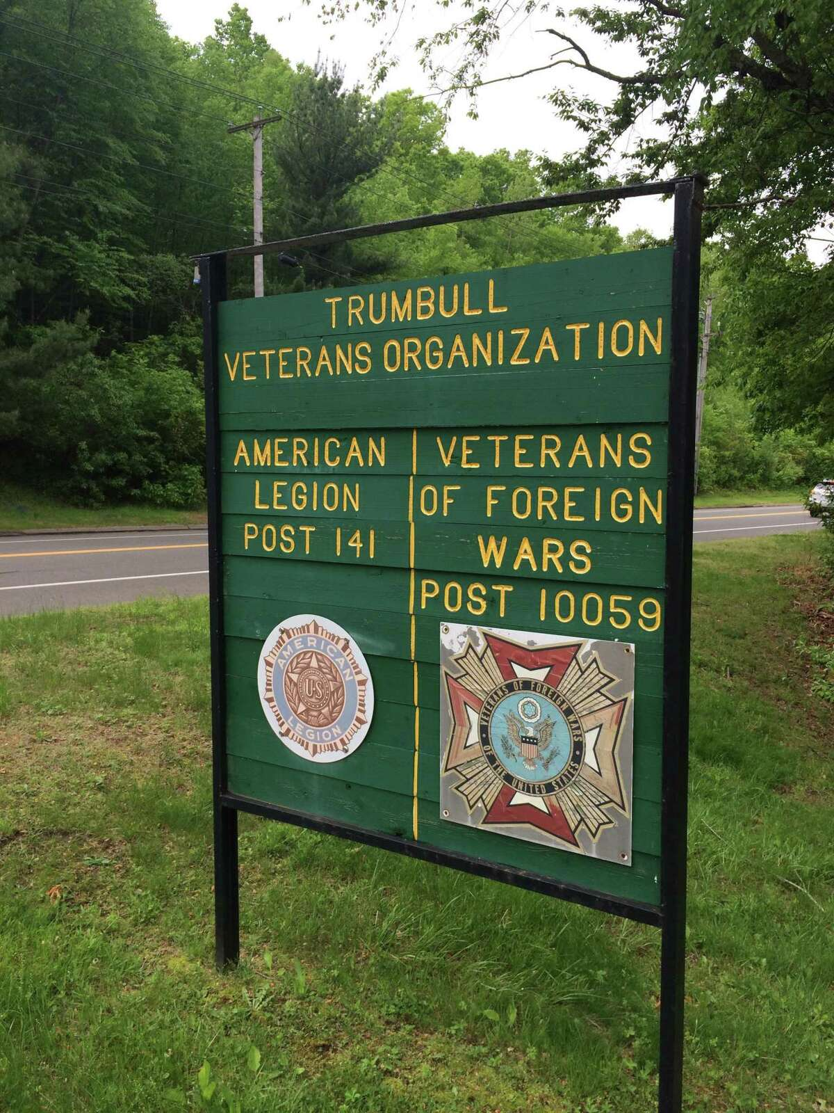 The town's veterans groups hope to build a new facility by 2021. The current building was built in 1940 and condemned in 2017 due to unrepairable structural damage.