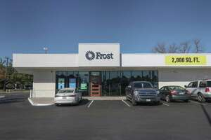 Frost bank is expanding across the city with new branches like this one located at 8360 Long Point Road Monday, Dec. 30, 2019, in Houston.