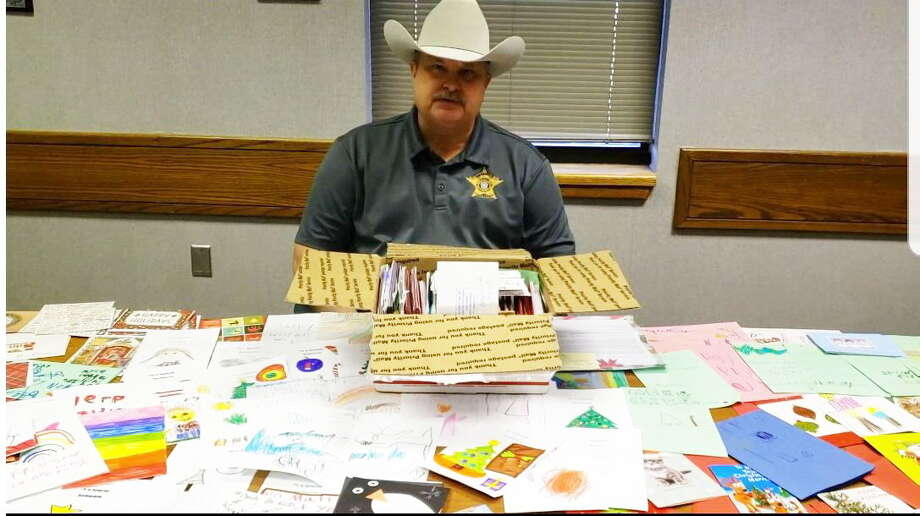 "The Ector County Sheriff's Office received a box of holiday cards from ""Cards for Kids,"" a group that sends cards during the holiday season to children and communities affected by mass shootings. Photo: Courtesy Photo"