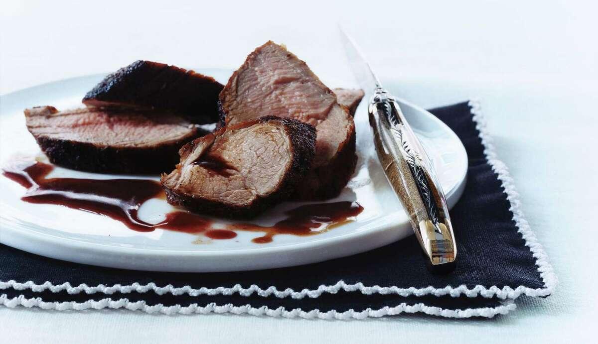 Pork Tenderloin in wine sauce