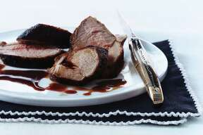 Pork Tenderloin in wine sauce