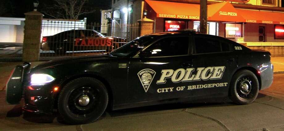File photo of a Bridgeport police cruiser taken on Thursday Dec. 5, 2019. Photo: Christian Abraham / Hearst Connecticut Media / Connecticut Post