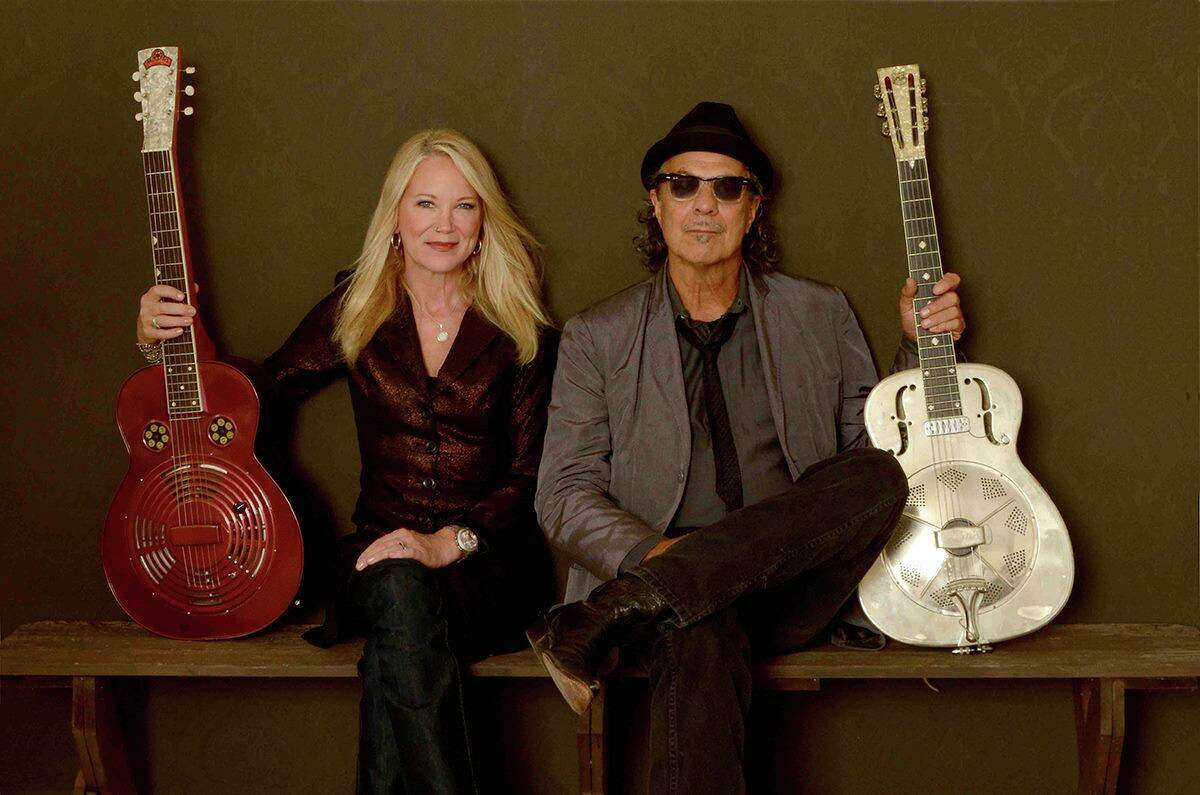 NICHOLAS & CASHDOLLAR: American roots music artists Johnny Nicholas and Cindy Cashdollar will perform at the Katharine Hepburn Cultural Arts Center, aka The Kate, at 8 p.m. Friday, April 26. Tickets ($28) are at thekate.org or 860-510-0453.