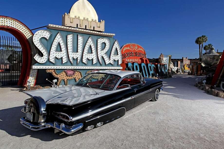 A 1959 Chevrolet Impala photographed in Las Vegas. Photo: Beto Mendoza