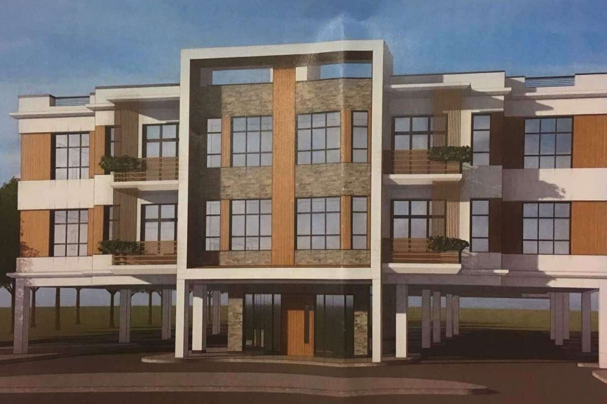 An earlier design for 20 residential units at 1205 E. Putnam Avenue in Riverside has been dropped.