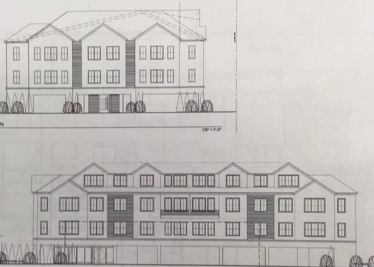 A new design has been put forward for a proposal to build 20 residential units at 1205 E. Putnam Avenue in Riverside.