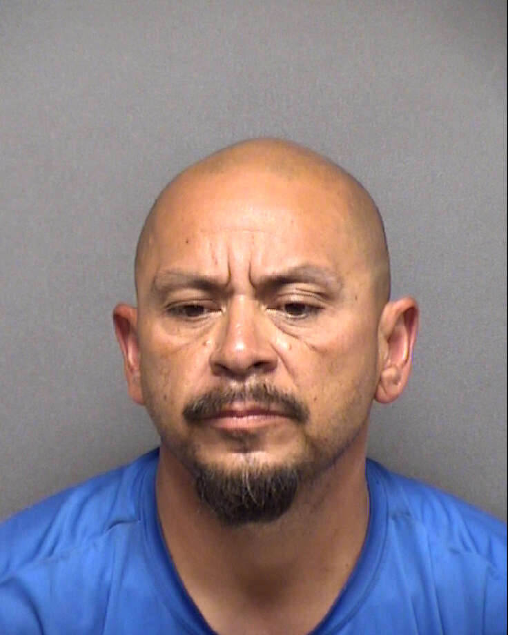 The Bexar Country Sheriff's Office arrested Marion Perez Ramirez on Tuesday afternoon in connection with a domestic violence incident with his wife Monday at a Valero gas station in the city's West Side. Photo: Bexar Country Sheriff's Office
