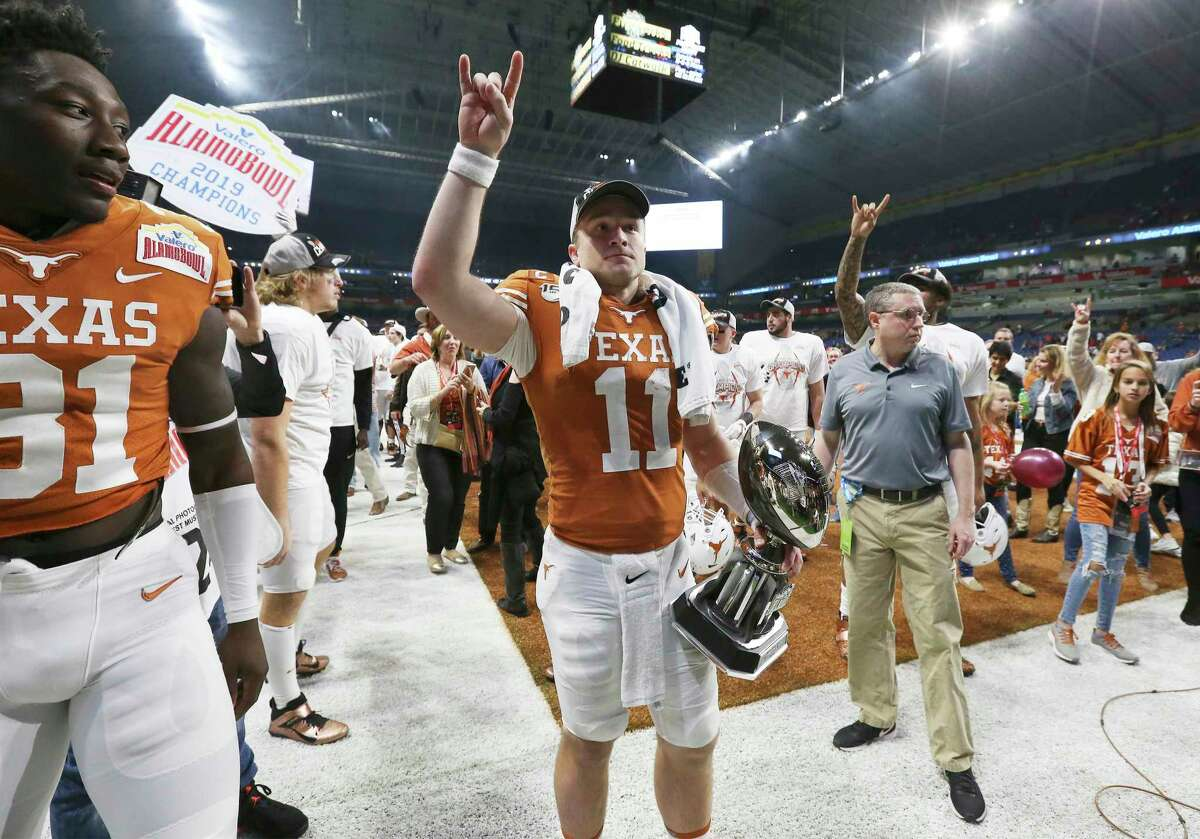 Texas quarterback Sam Ehlinger, who's now 3-0 in bowls, is expected to return for his senior season. He likely will be joined by a loaded backfield and most of the team's top defenders.