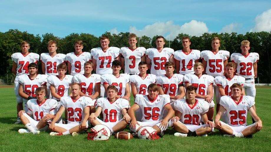 The Benzie Central varsity football team earned academic all-state for third consecutive year in 2019. (File photo)