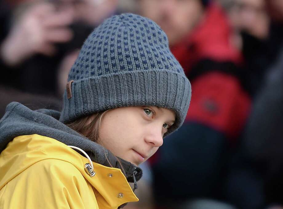 Swedish climate activist Greta Thunberg takes part at a Friday for Future strike on climate emergency, in Turin, Italy, on Dec. 13. Photo: Filippo Monteforte / AFP Via Getty Images / AFP or licensors