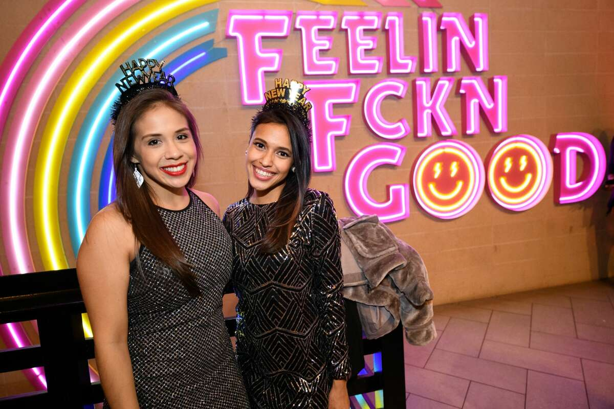 Midtown's Electric FeelGood hosted a Studio 54 party to celebrate New Year's Eve on Tuesday, Dec. 31, 2019, in Houston.