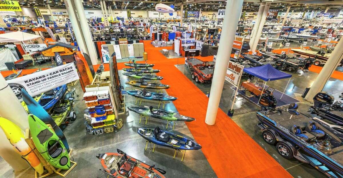 The Houston Boat Show returns to NRG Center on Jan. 3.