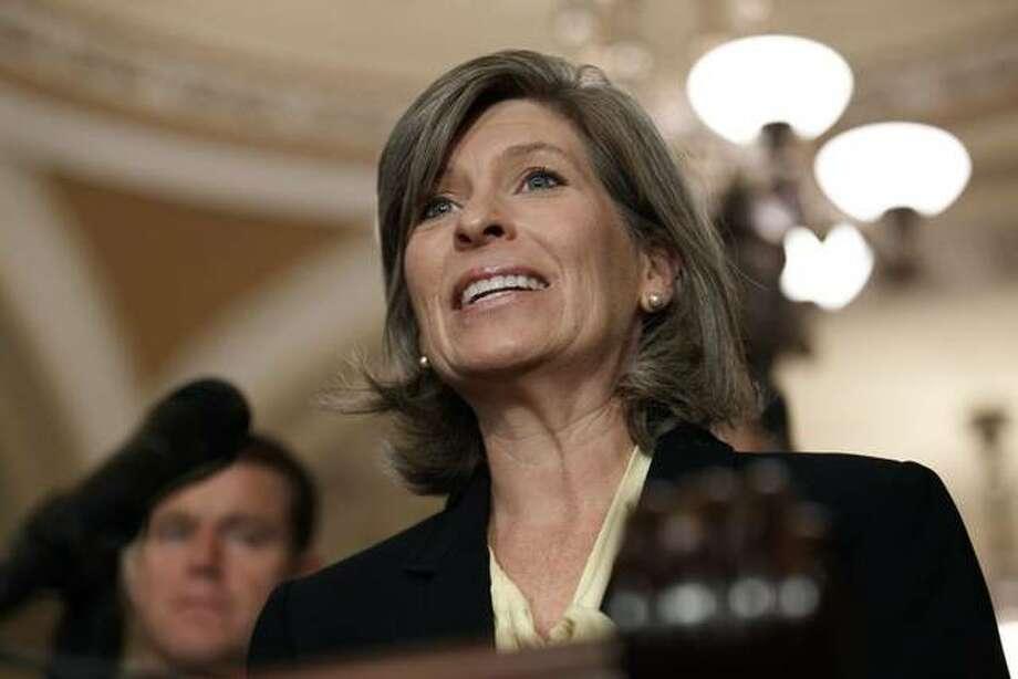 U.S. Sen. Joni Ernst, R-Iowa Photo: Jacquelyn Martin / AP