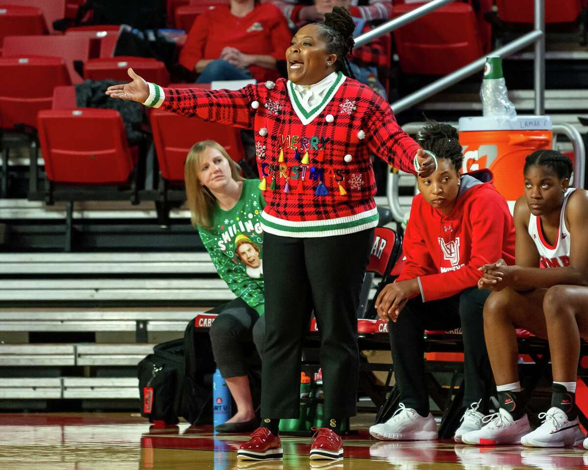 The Lady Cardinals took down the Demons of Northwestern State by a score of 61-58 on Saturday, December 21, 2019. Fran Ruchalski/The Enterprise