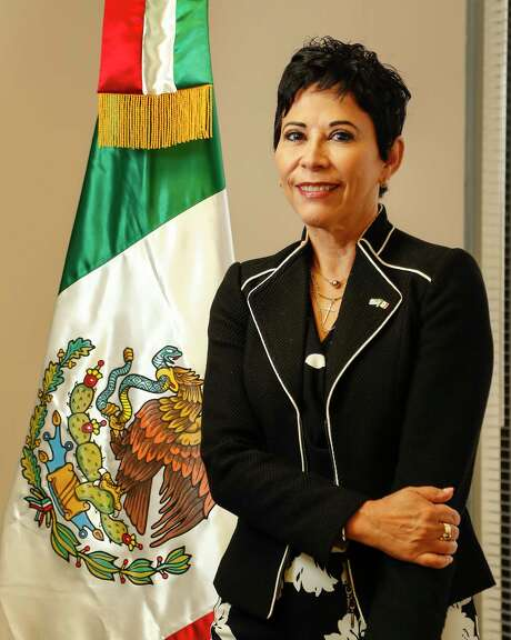 Alicia Kerber-Palma, Consul General of Mexico, photographed in her office at the Mexican Consulate General, in Houston, Tuesday, July 2, 2019.