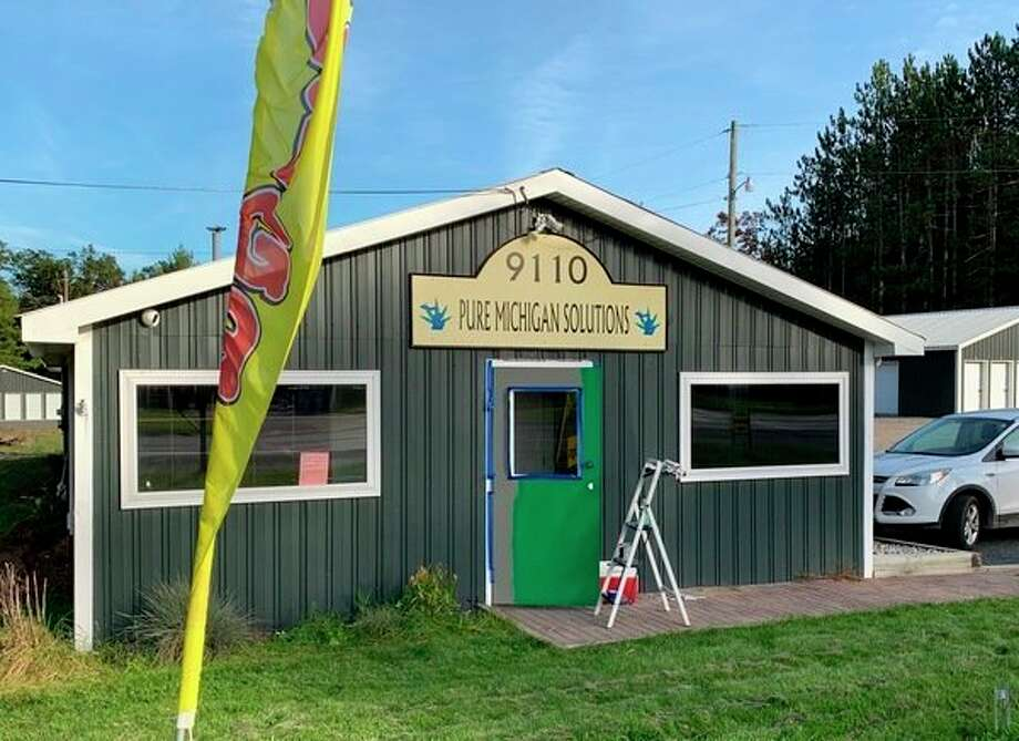 Pure Michigan Solutions in Baldwin recently added a medical marijuana dispensary, Green Door Baldwin, to their facility. They will host a grand opening of the medical marijuana business on Jan. 13. (Pioneer file photo)