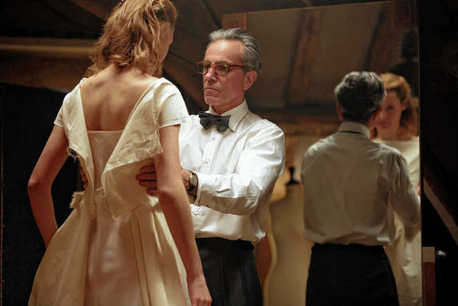 "Vicky Krieps and Daniel Day-Lewis share a scene in ""Phantom Thread,"" the second best film of the past decade, according to the Associated Press. Photo: Laurie Sparham 