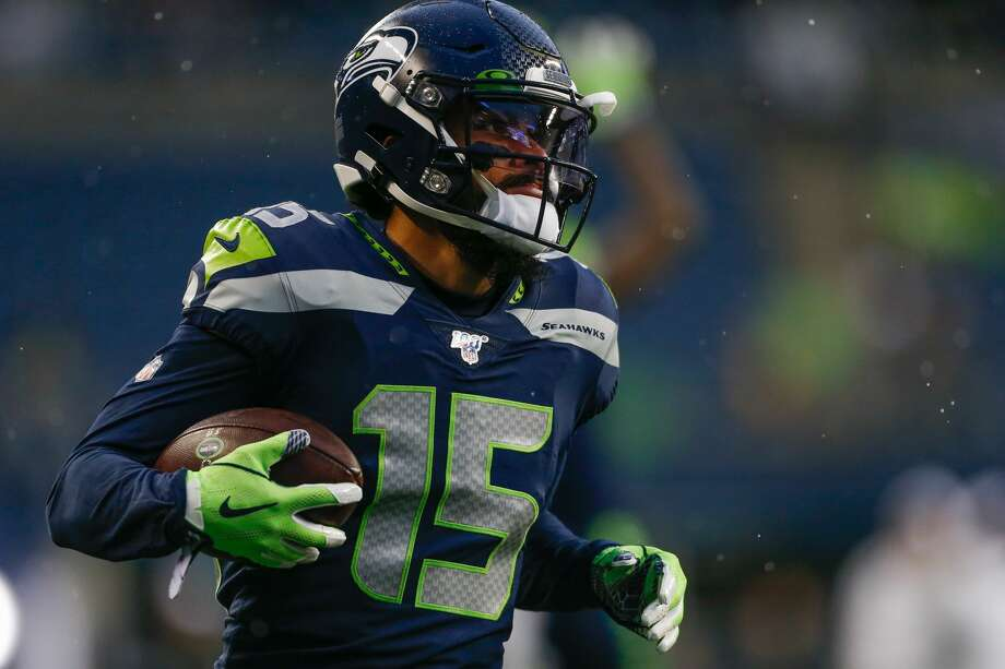 Seattle Seahawks wide receiver John Ursua on Sunday was placed on the NFL's Reserve/COVID-19 list, according to the league's transaction wire. Photo: Otto Greule Jr./Getty Images / 2019 Otto Greule Jr