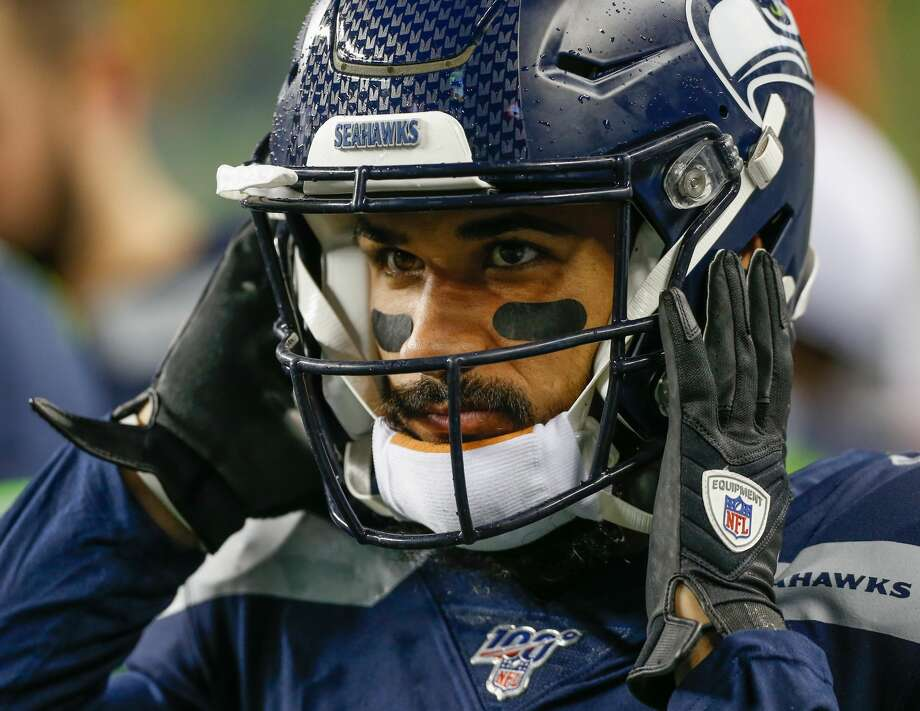 Seattle Seahawks wide receiver John Ursua confirmed late Monday night on his Instagram that he received a false positive test for COVID-19. Photo: Otto Greule Jr./Getty Images / 2019 Otto Greule Jr
