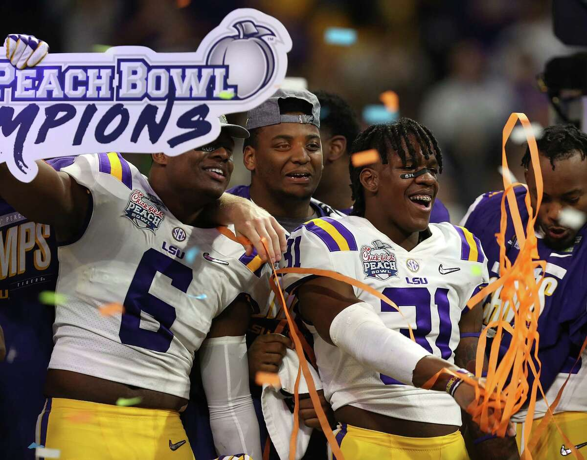 SEC (7-2)College Football Playoff Semifinal: LSU beat Oklahoma, 63-28Sugar Bowl: Georgia beat Baylor, 26-14Orange Bowl: Florida beat Virginia, 36-28Citrus Bowl: Alabama beat Michigan, 35-16Outback Bowl: Auburn lost to Minnesota, 31-24Belk Bowl: Kentucky beat Virginia Tech, 37-30Texas Bowl: Texas A&M beat Oklahoma State, 24-21 Music City Bowl: Mississippi State lost to Louisville, 38-28Taxslayer Gator Bowl: Tennessee beat Indiana, 23-22College Football Playoff Championship: LSU vs. Clemson, Jan. 13