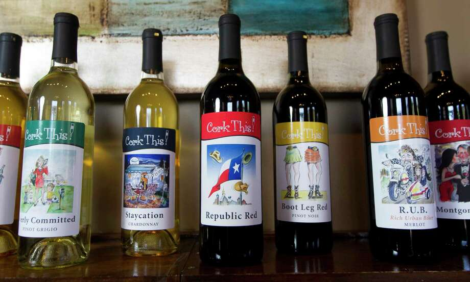 Cork This! Winery in Montgomery has closed. Perrine Winery near College Station has taken over their place on the Texas Bluebonnet Wine Trail. Photo: Jason Fochtman, Houston Chronicle / Staff Photographer / Houston Chronicle