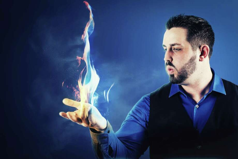 Webster magician Robby Bennett, who will perform Jan. 11-12 at Bay Area Harbour Playhouse in Dickinson, got his start in the craft while he was a kid who often had to stay at home because of illness and had a magic kit to play with.