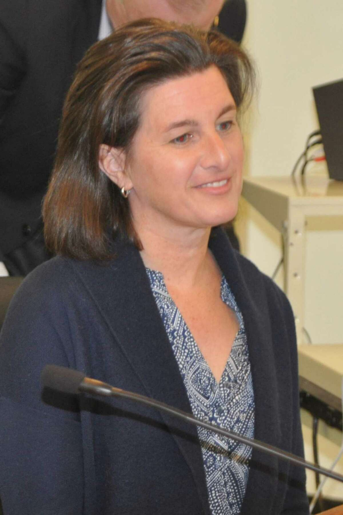 Glori Norwitt, who has led the Women's Center in Danbury and served on the board of Connecticut Against Gun Violence, was named to Ridgefield's Economic and Community Development Commission in December 2019.