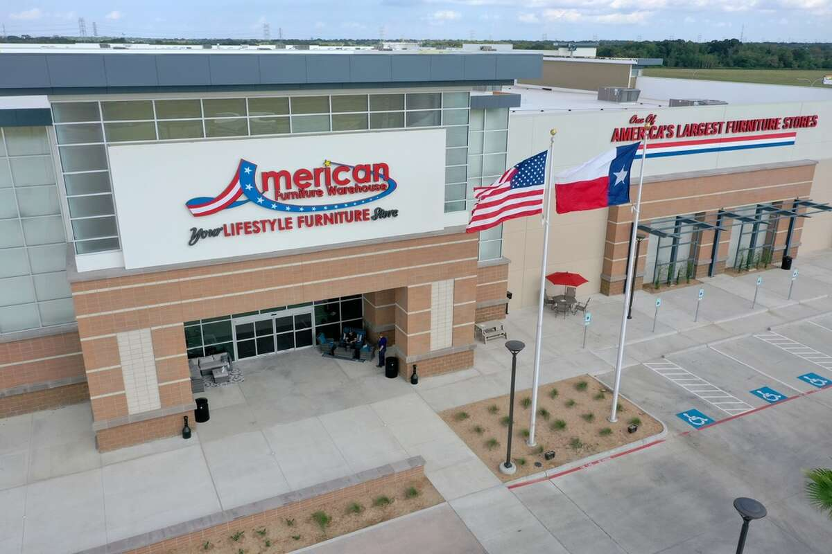 American Furniture Warehouse opened a 355,000-square-foot showroom and warehouse in Webster in September 2019.