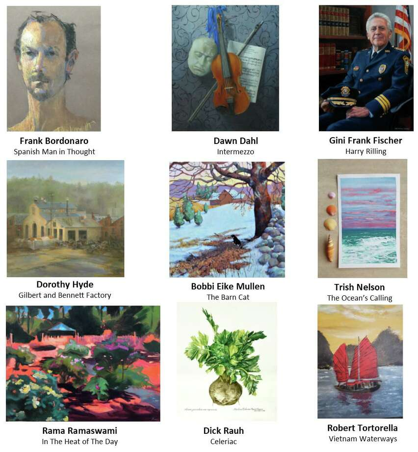 """Wilton Library's """"Winter Interlude,"""" an exhibition featuring nine area artists, opens Jan. 10, with a reception that is free and open to the public. The show features more than 70 works highlighting diverse subject matter, styles and media choices. Portions of the proceeds benefit the library. Photo: Wilton Library / Contributed Photo"""