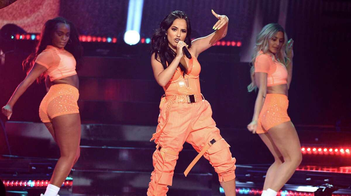 Pop singer Becky G returns to San Antonio in February to play the rodeo.