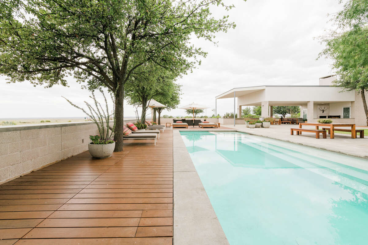 Ranch 2810, near Marfa, Texas, was designed by esteemed Houston architect Carlos Jiménez. It went viral after Beyonce famously rented it.