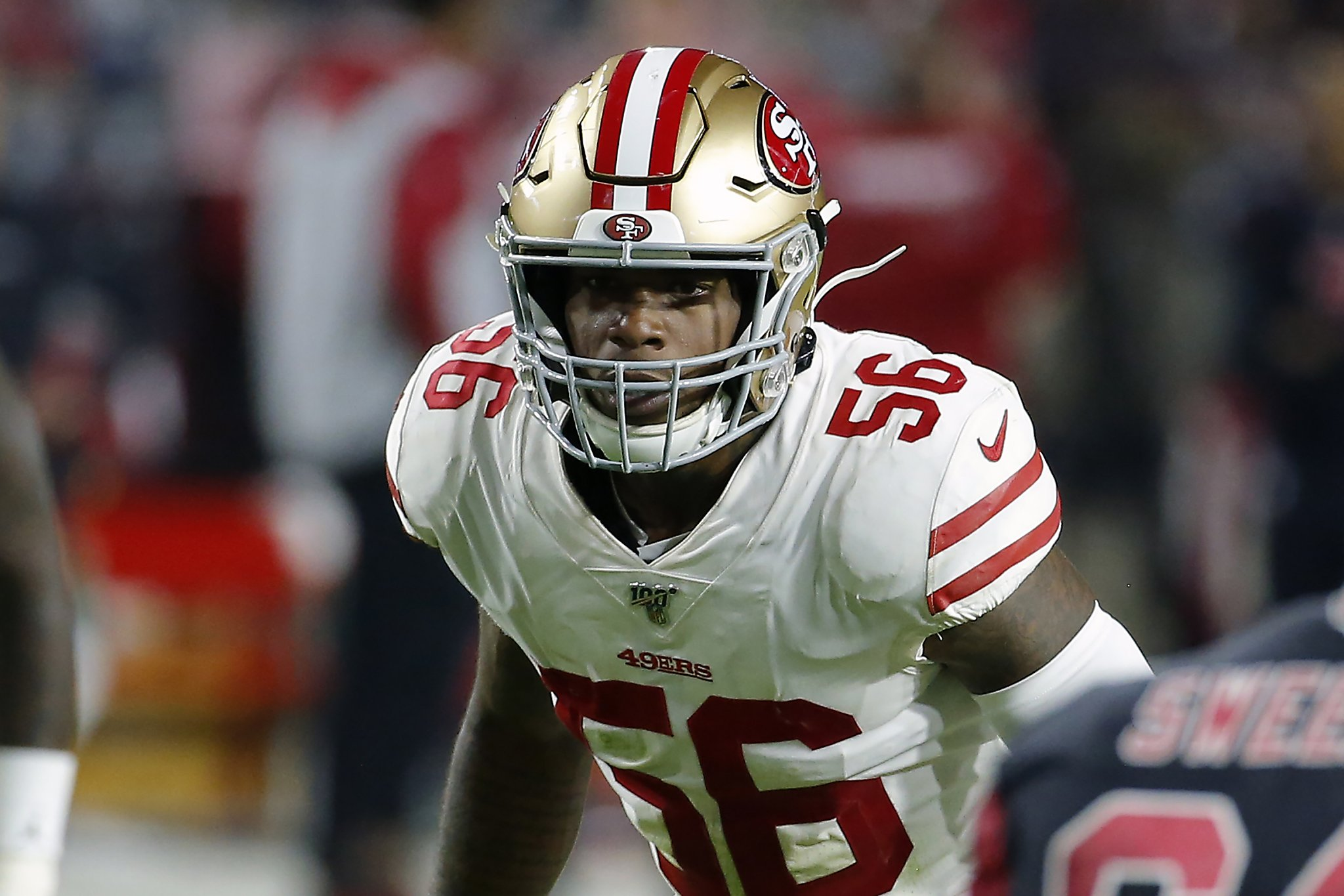 Report: 49ers' Kwon Alexander has surgery for biceps injury