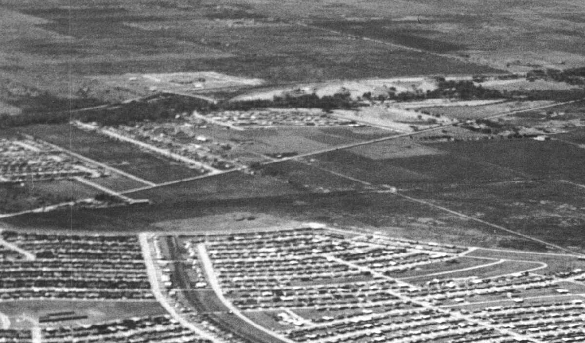 View toward Beechnut and Bissonnet, circa 1960. >> See more photos of Sharpstown back in the day in the photos that follow.