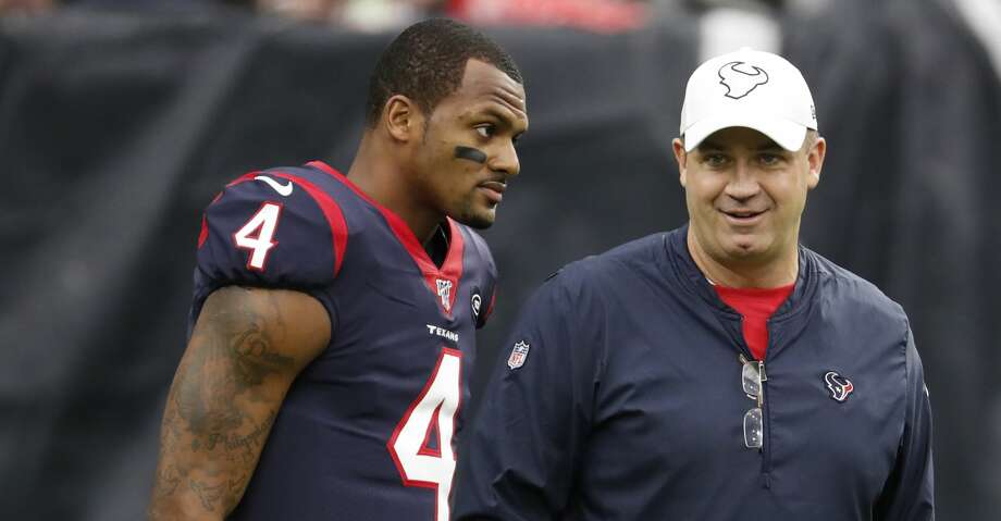 This offseason, the Texans have gone all-in on Bill O'Brien and Deshaun Watson, giving the coach the general manager title as well while recently agreeing to a lucrative contract extension with their franchise quarterback. Photo: Brett Coomer/Staff Photographer