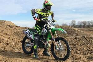 """Supercross competitor Theodore """"Bubba"""" Pauli, of Edwardsville, turned pro at the end of 2013 and manages Monster Energy AMA Supercross Race Team TXS Productions."""