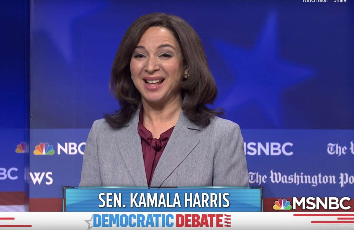 One of Maya Rudolph's most memorable performances as Senator Kamala Harris came at the expense of her desperation for viral moments.