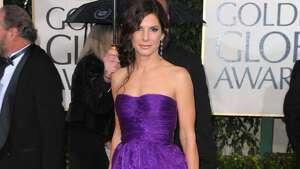 2010: Sandra Bullock in Bottega Veneta.