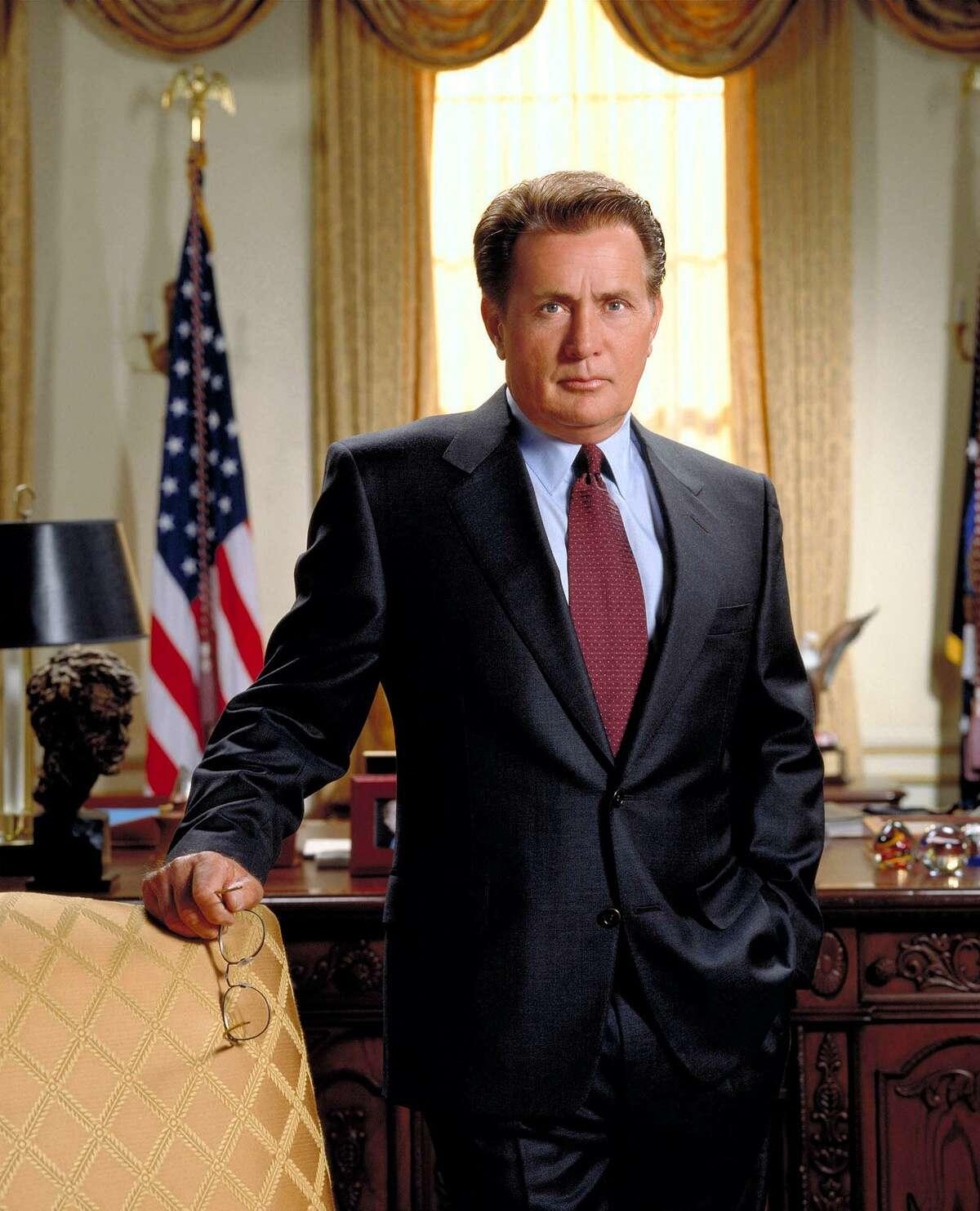 Martin Sheen as President Josiah Bartletl