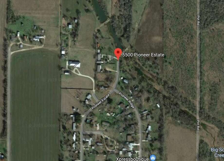 Google maps shows the area near the 5500 block of Pioneer Estates. Photo: Google Maps
