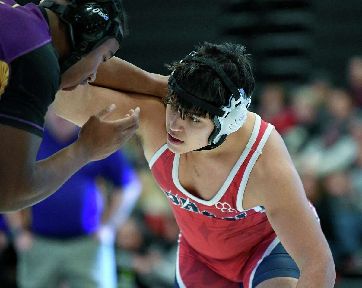 Phillip Boyles pinned his foe in the second period at 195 pounds.