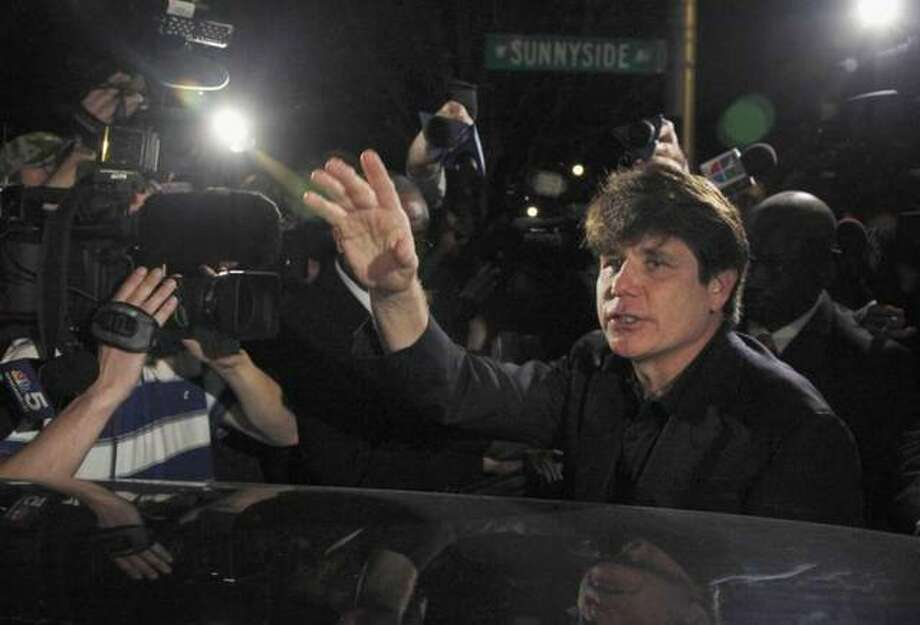 In this March 15, 2012 file photo, former Democratic Illinois Gov. Rod Blagojevich departs his Chicago home for Littleton, Colo., to begin his 14-year prison sentence on corruption charges. Blagojevich, authored, a column appearing on the conservative website Newsmax Jan. 1, 2020, arguing that Democrats in the U.S. House of Representatives would have tried to impeach former President Abraham Lincoln. Photo: Charles Rex Arbogast, AP