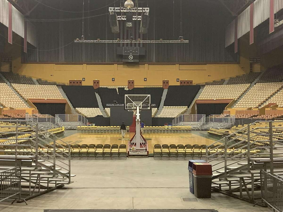 The Cow Palace will host its first high school basketball games Friday.