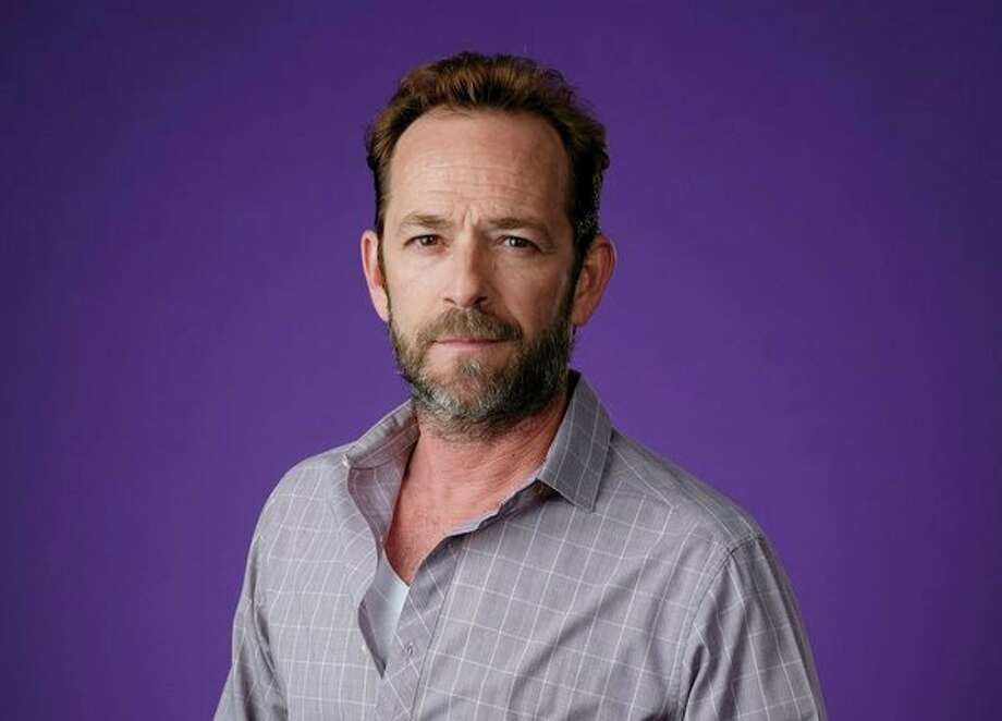 """Actor Luke Perry, of the CW's """"Riverdale"""" and """"Beverly Hills, 90210,"""" died of a stroke March 4 at 52. (Photo by Chris Pizzello/Invision/AP) / 2018 Invision"""