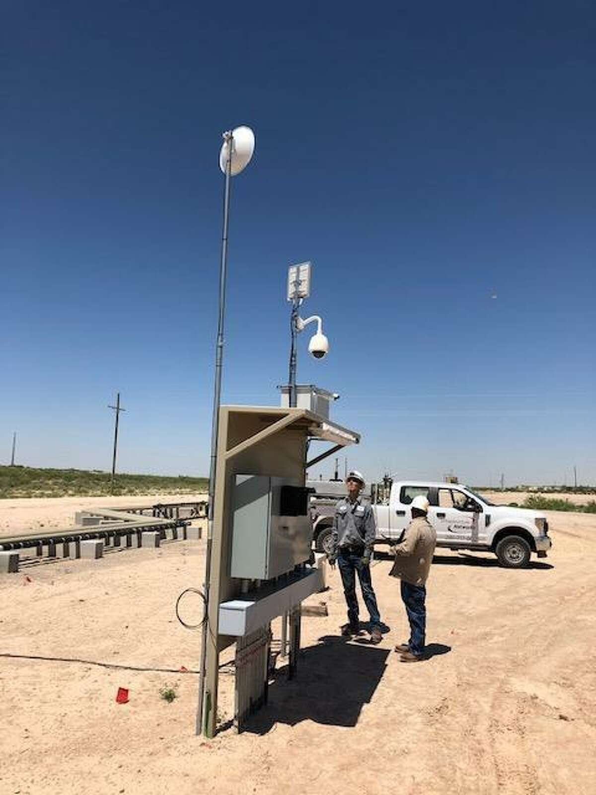 Headquartered in Houston, Infrastructure Networks provides wireless data service to drilling rig operators, completion crews and production sites in oil fields across the United States.