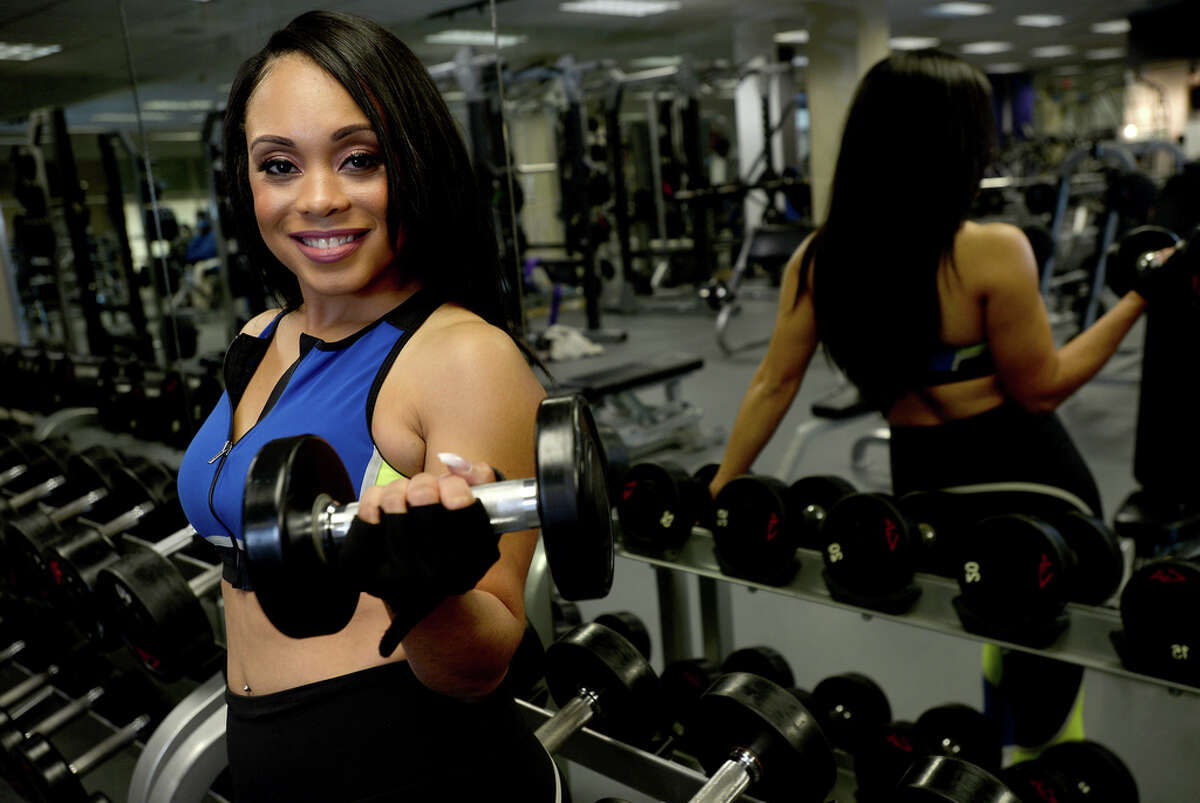 KFDM's Tan Radford is a fitness enthusiast and model when not in front of the camera reporting the news of Southeast Texas. Photo taken Tuesday, November 19, 2019 Kim Brent/The Enterprise